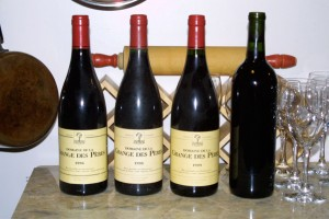 Three-Year Vertical of Grange des Peres, plus mystery Barbera