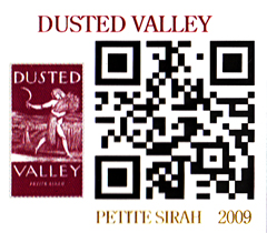 QR Code for Dusted Valley Petite Sirah